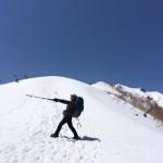 残雪の燕岳 ~女子2人の1泊2日旅~